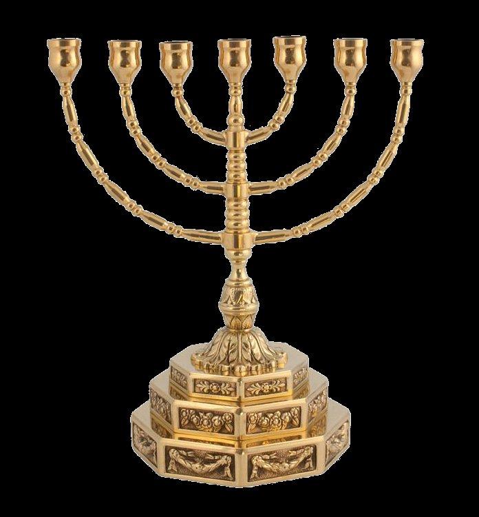 jødisk lysestage